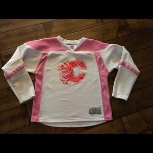Girls Size 14 Pink Flames Jersey